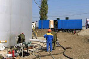 Услуги по дегазации резервуаров
