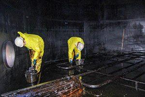 Услуги по зачистке резервуаров